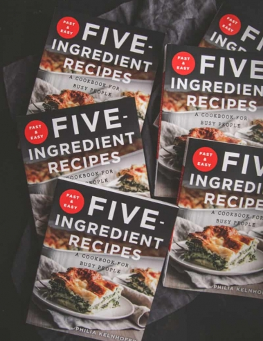 Fast & Easy Five-Ingredient Recipes Cookbook is in stores today!
