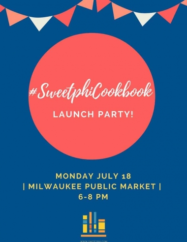 #SweetphiCookbook Launch Party Details!