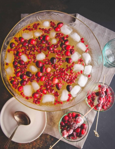 5 Ingredient Holiday Punch Recipe