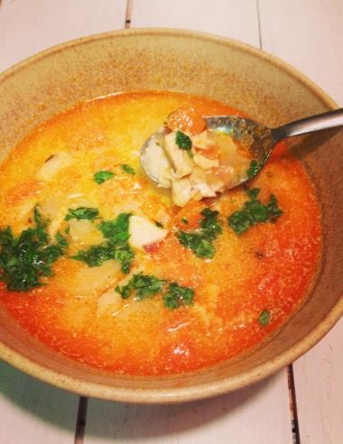 Recipe Redo: Paprika Whitefish Chowder