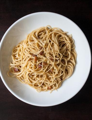 5 Ingredient Carbonara Pasta