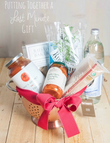 How to Put Together a Last-Minute Thoughtful Gift