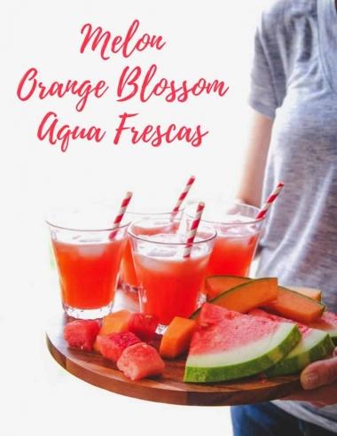 Melon Orange Blossom Agua Frescas