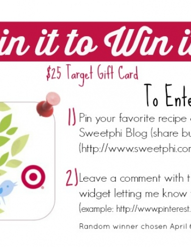 Pin it to Win it – Target Gift Card