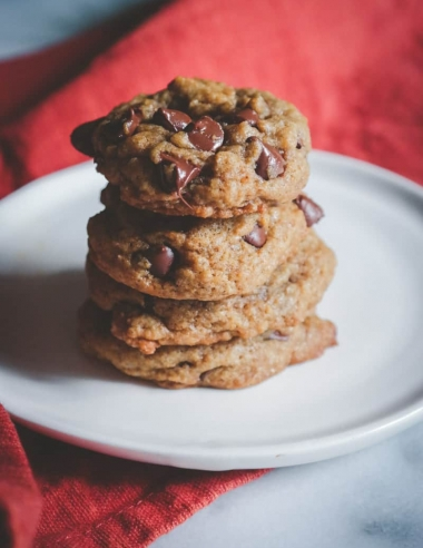 Pumpkin Spice Latte Chocolate Chip Cookies