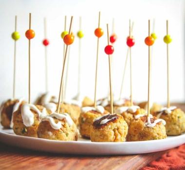 Shrimp Meatballs with Garlic Aioli Recipe