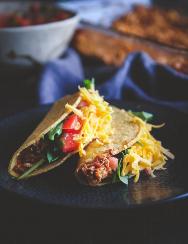 The Best Ground Turkey Tacos