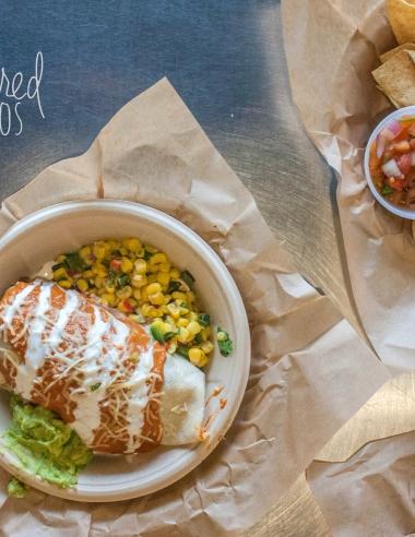 Qdoba Smothered Burritos and Giveaway