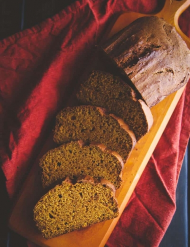 The Best Pumpkin Loaf Ever (Gluten Free and better than Starbucks)