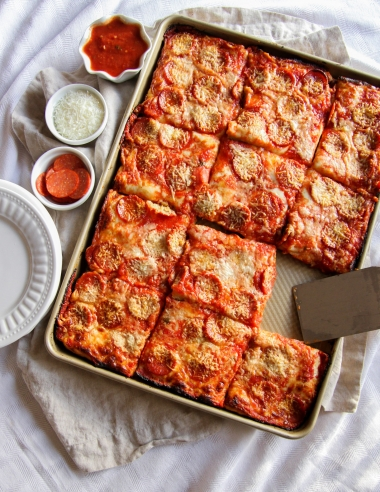 Sheet Pan Pizza Recipe